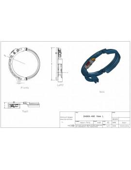 Draadgeleider DEMAG DH300-400 11mm L