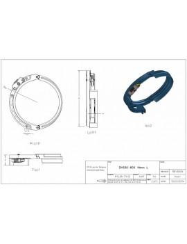 Draadgeleider DEMAG DH500-600 14mm L