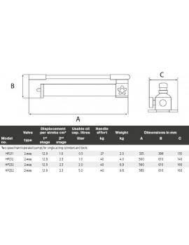 HPA - Aluminium handpomp
